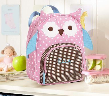 Owl Preschool Backpack Bree loves her little thing but she would love a real backpack!