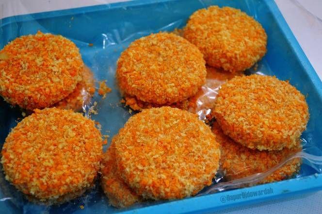 Resep Patty Ayam Wortel Untuk Isian Burger Oleh Wardat El Ouyun Resep Ide Makanan Wortel Makanan