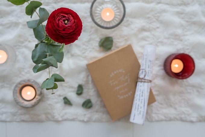 This year we gave each others loveletters instead of presents. Recommendations! <3  loveletter, rakkauskirje, joululahja, christmasgift  www.tohkeissaan.fi