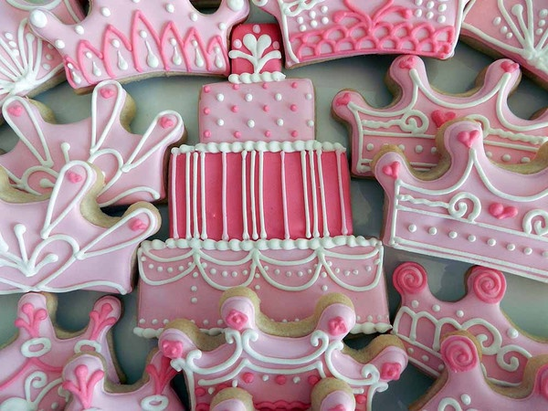 Birthday cookies: Sugar Cookies, Birthdays, Birthday Cookies, Decorated Cookies, Girls Birthday, Cookies Cupcakes Princesas, Birthday Cakes