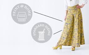 palazzo pants patterns free ile ilgili görsel sonucu