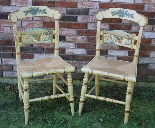 247 Best Hitchcock Furniture Images On Pinterest Chair