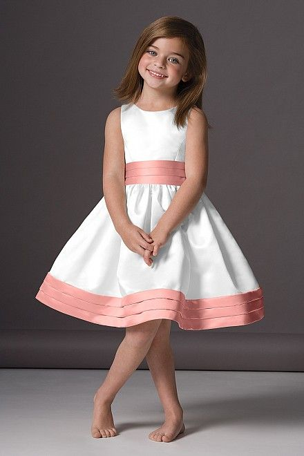 flower girl dress.  Champagne with just bow as different color.   Add sleeves.