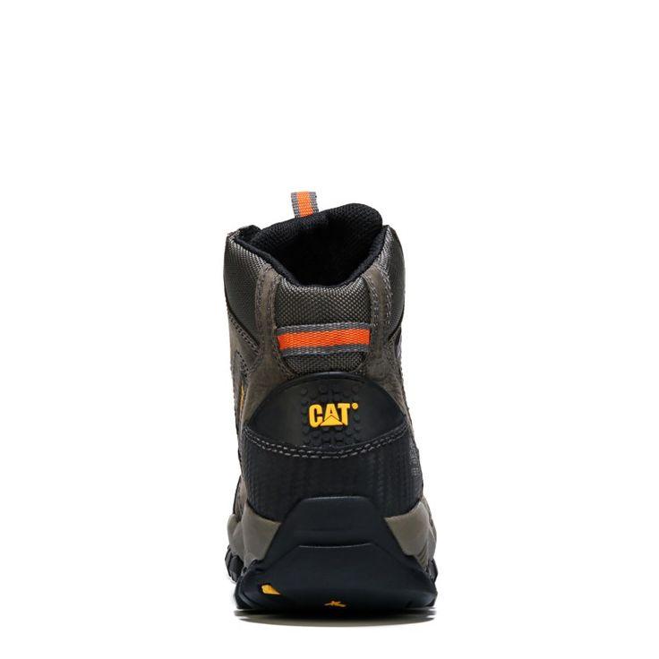 Caterpillar Men's Navigator Mid Medium/Wide Waterproof Steel Toe Boots (Dark Gull Grey) - 11.5 M