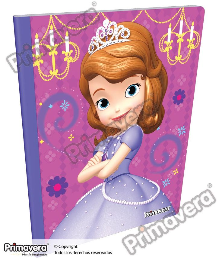 Cuaderno Cosido Infantil Princesita Sofía http://escolar.papelesprimavera.com/product/cuaderno-cosido-infantil-sofia-primavera-7/