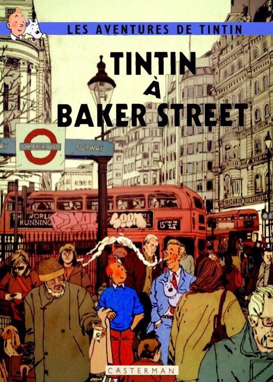 Les Aventures de Tintin - Album Imaginaire - Tintin à Baker Street