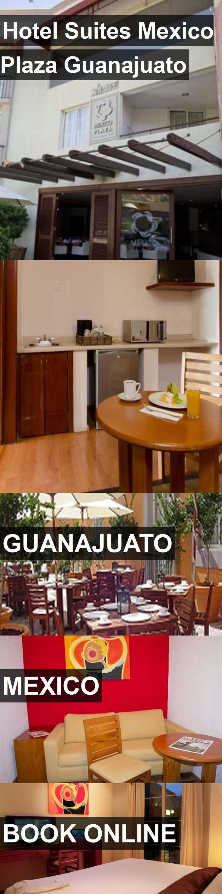 Hotel Suites Mexico Plaza Guanajuato in Guanajuato, Mexico. For more information, photos, reviews and best prices please follow the link. #Mexico #Guanajuato #travel #vacation #hotel