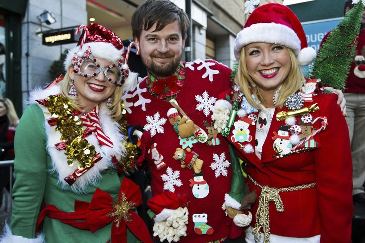 Christmas Jumpers (Christmas Sweaters)  http://blog.irishtourism.com/2014/12/11/christmas-traditions-in-ireland