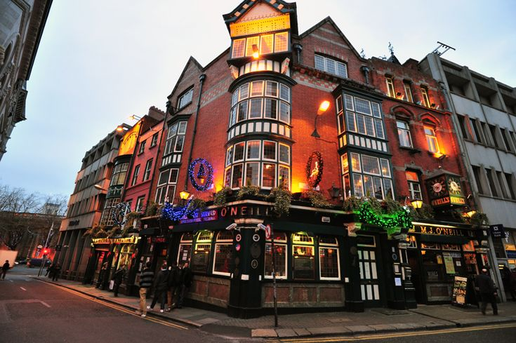 O Neils Dublin Neills Pub Advertised By Many Dubliners