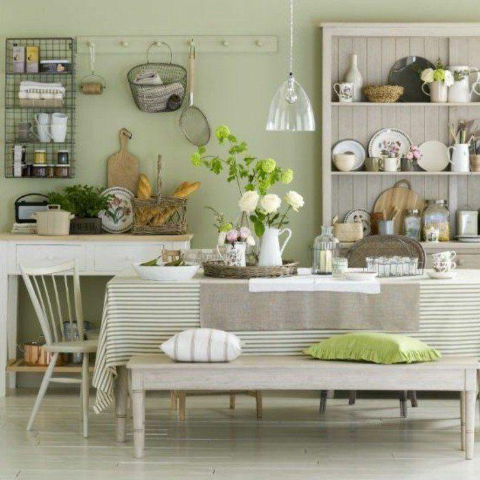 17 meilleures id es propos de murs vert p le sur for Peinture cuisine lavable