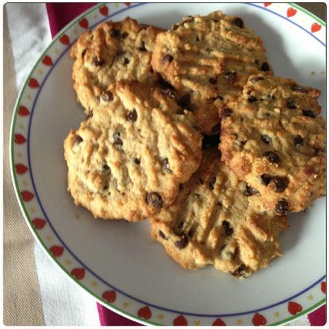 Μπισκότα με Φυστικοβούτυρο και Σοκολάτα | Gourmelita