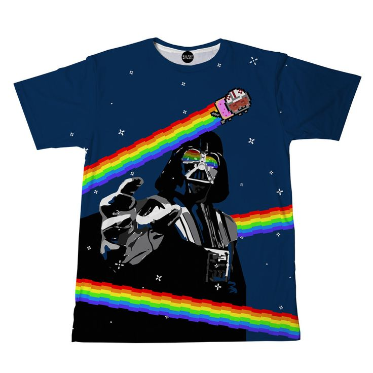 Our Nyan Cat Darth Vader all over print t-shirt is one of a kind. This t-shirt…