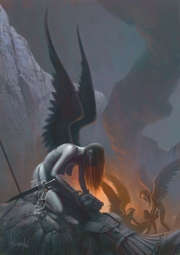 The Keres were Ancient Greek female deities of violent, cruel and painful…
