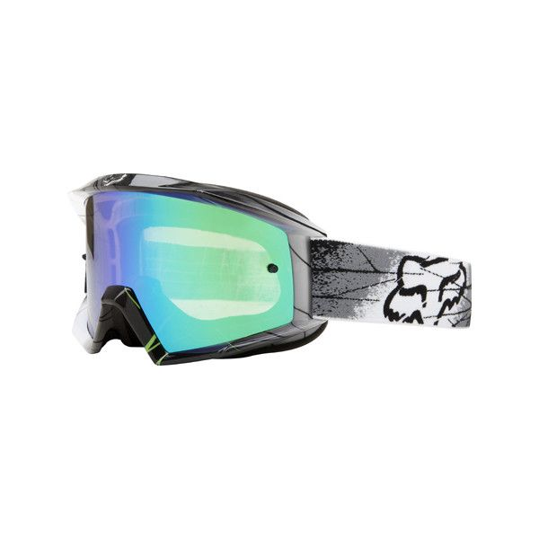 Goggles >> Fox Racing The Main MX Goggle ❤ liked on Polyvore