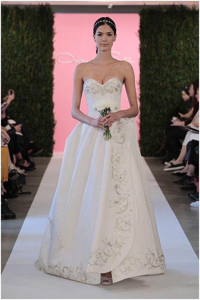 Oscar de la Renta 2015 Bridal Collection - Nu Bride