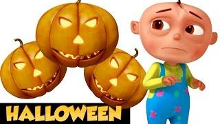 Five Little Babies In a Haunted House | Halloween Songs For Children | Scary Spooky Song - YouTube