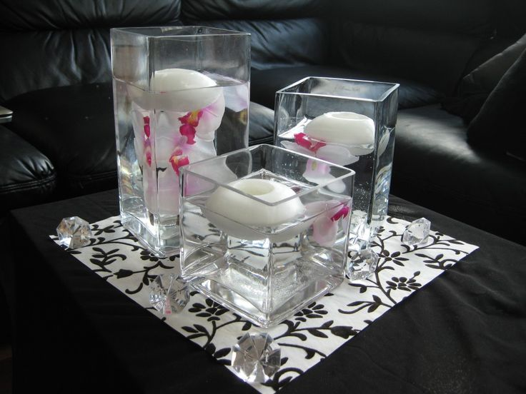 Beautiful Wedding Decorations Wholesale | Square Wedding Centerpieces | WeddingGirl.ca