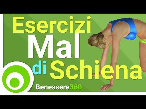 Stretching Schiena - YouTube