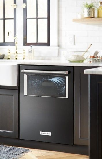 """KitchenAid - 24"""" Top Control Tall Tub Built-In Dishwasher with Stainless Steel Tub - Black Stainless - AlternateView13 Zoom"""