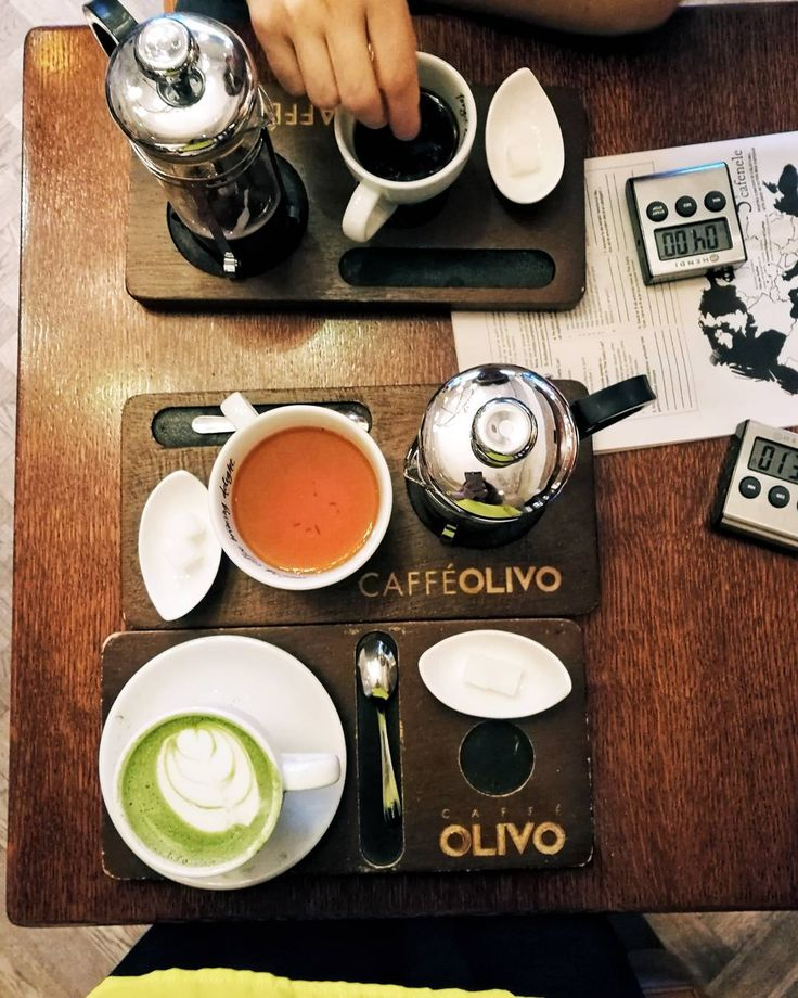 """818 Likes, 28 Comments - Style & Beauty by ARIANNE (@ariannechavasse) on Instagram: """"Travelling the world with coffee, tea and matcha🌐💙 Which one is your favorite?🙌 #olivocoffee…"""""""