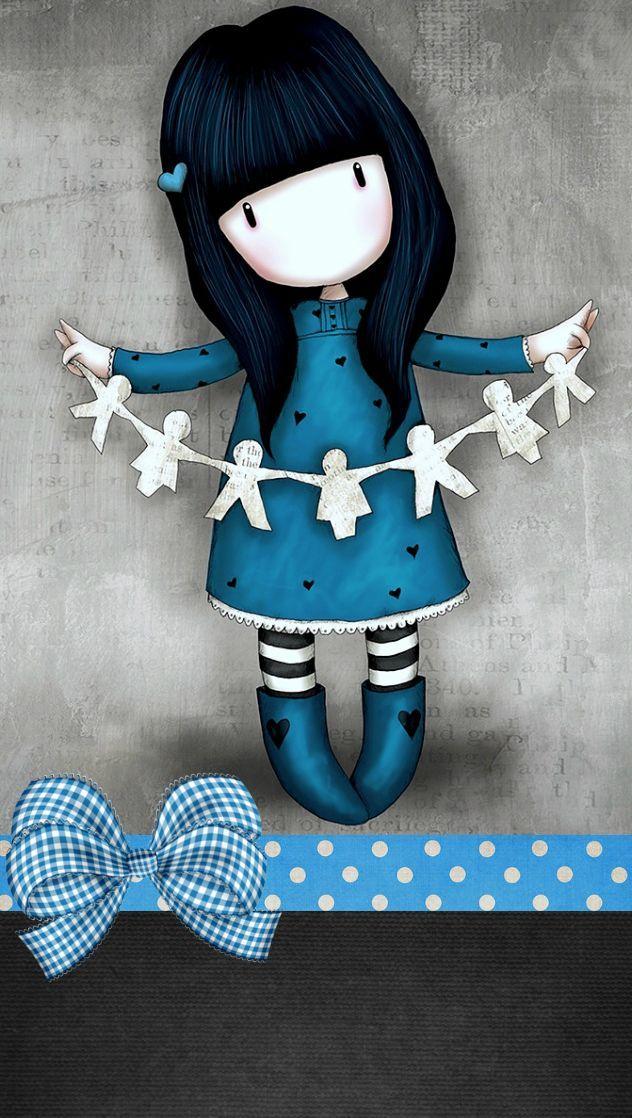 Cute Gorjuss Wallpaper / Illustrations / Backgrounds - Phone Wallpapers
