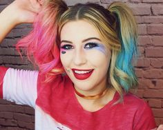 In love nesse vídeo da maquiagem e cabelo inspirados na Arlequina! Fiz com muito carinho e foi super divertido venham ver!