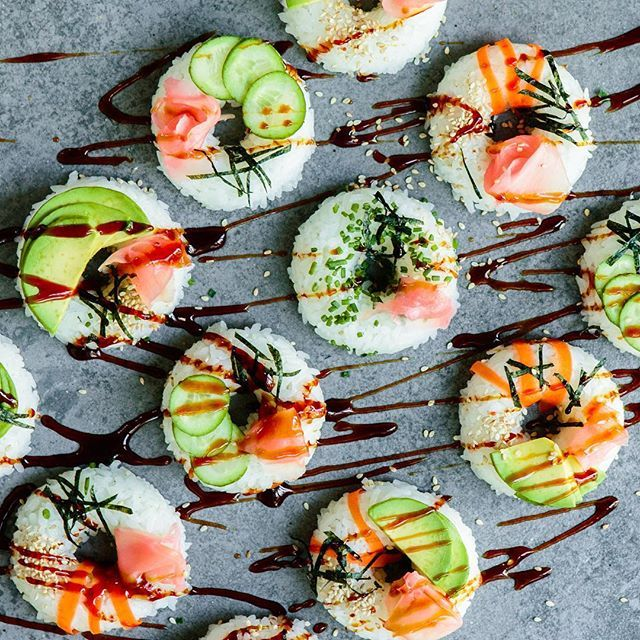 Image result for images of unique & healthy sushi decorations