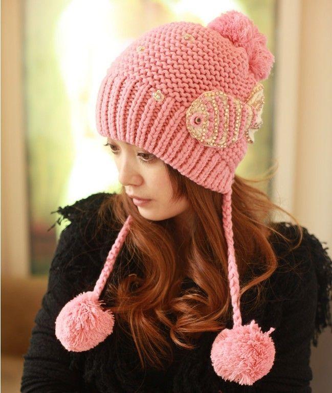 2013 otoño invierno de punto sombrero de lana para las mujeres señora tapas  gorro de punto