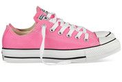 Roze Converse sneakers All Star OX gympen