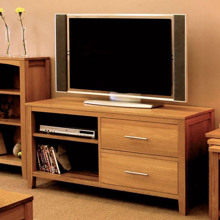Hereford Solid Oak Tv Unit - - TV Unit - Ametis - Space & Shape - 1