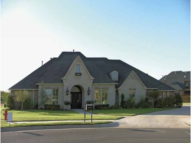 Eplans French Country House Plan - European-Influenced Exterior ...