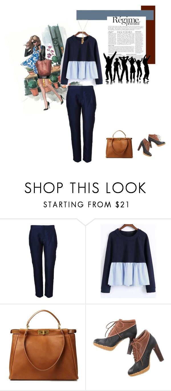 """Venerdi Casual a lavoro"" by piccolauby ❤ liked on Polyvore featuring Josh Goot, Anja, Fendi, Tommy Hilfiger and Chloé"