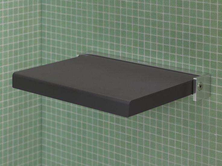 Sedile doccia ribaltabile in poliuretano Collezione Open space by DURAVIT Italia | design EOOS