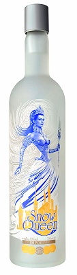 Snow Queen Vodka Jeroboam. I want one!