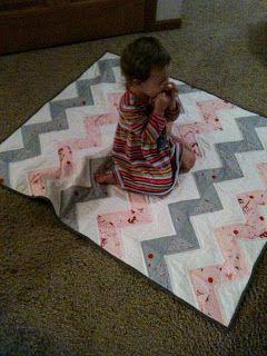 love this chevron quilt!