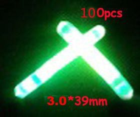 100x Stick New Fishing Night Light Stick 3.0 X 39mm Lures Baits Hooks Minnow COD >>> Check out this great product.