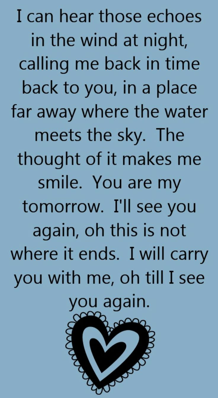lyrics see you again carrie underwood