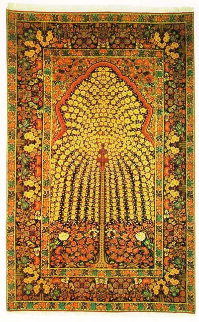 Kerman Tree of Life Persian Rugs