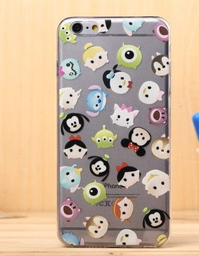 Cute DISNEY Tsum Tsum Phone Case For IPhone 6 , 6s, 5, 5s, Samsung Galaxy S6 and S5