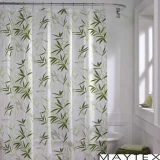 @Overstock.com - Maytex  Zen Garden Shower Curtain - The Zen Garden shower curtain showcases a tropical green bamboo design for a natural, relaxing look.  This curtain is designed for use with any standard shower curtain rod with rings or hooks.  http://www.overstock.com/Bedding-Bath/Maytex-Zen-Garden-Shower-Curtain/5093219/product.html?CID=214117 $17.48