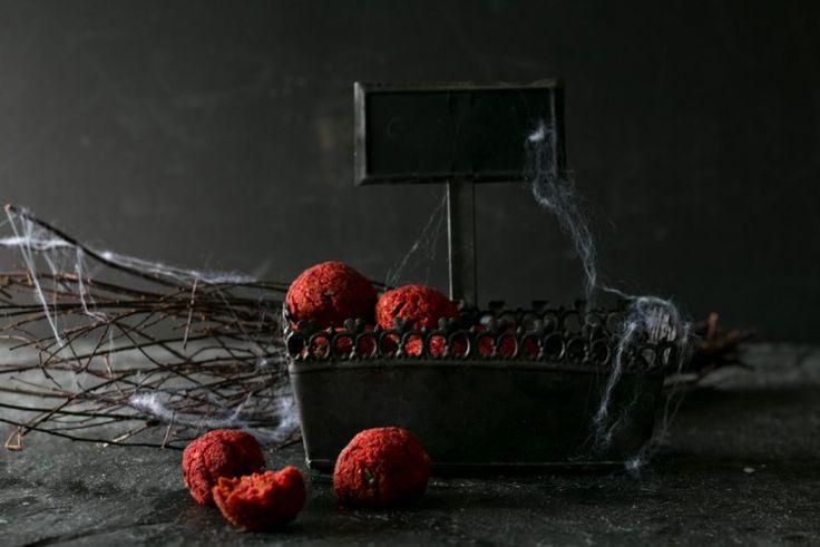 rote bete falafel