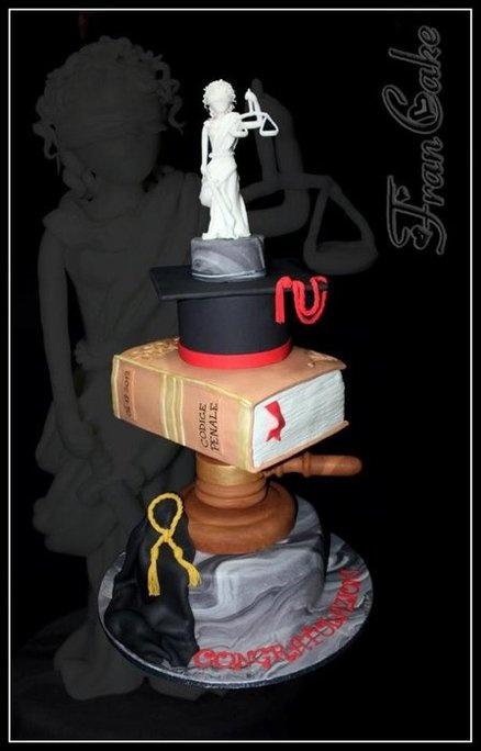 lawyer cake  Cake by francake