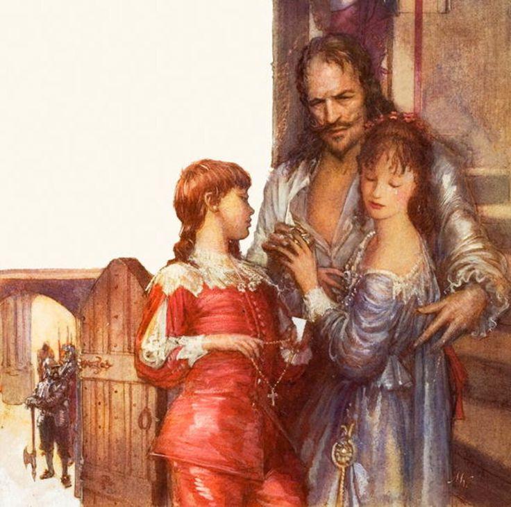 Charles I Saying Farewell to His Children by John Millar Watt.
