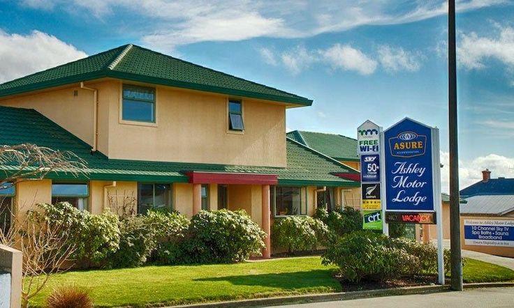 #ASURE #Timaru  accommodation - Ashley Motor Lodge
