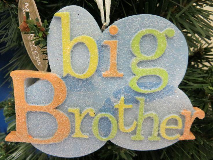 Big Brother Christmas Ornament Part - 47: New Big Brother Christmas Tree Ornament