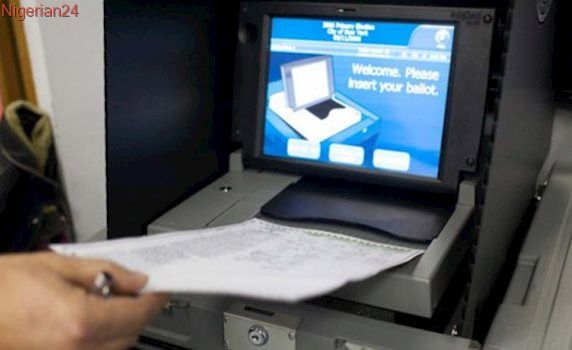 Science ministry unveils locally made electronic voting machine