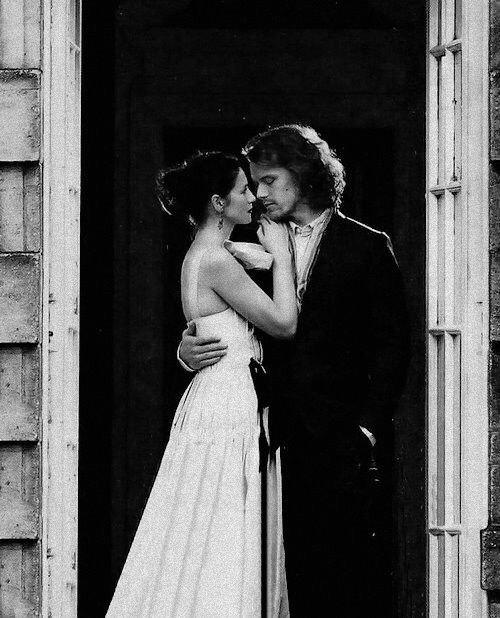 Sam Heughan and Caitriona Balfe / Actors / Black and White Photography