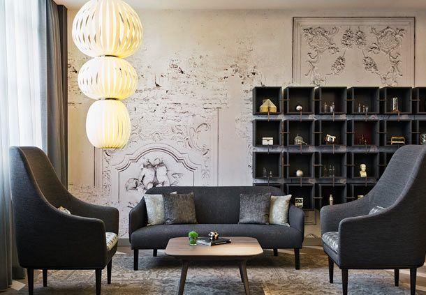 VIP Lounge at the Renaissance Hotel Wien, Vienna, Austria.