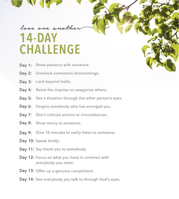 Love One Another—14-Day Challenge | LDS.org Blog