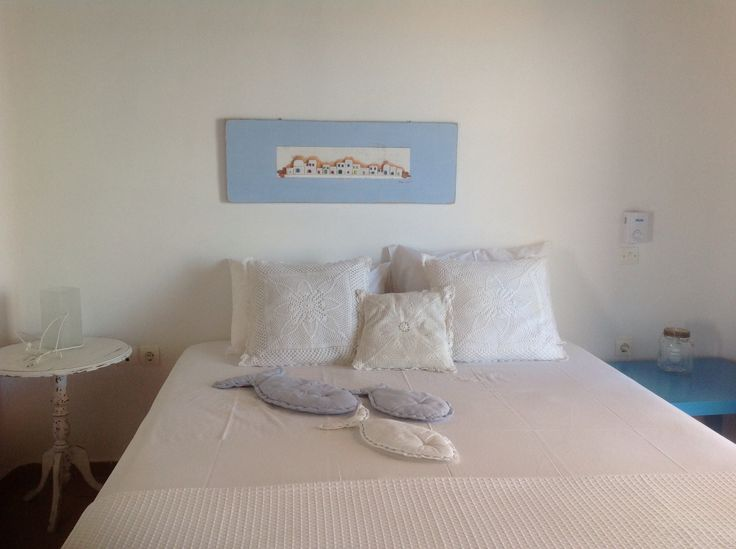 Astra houses in serifos, Greece. Bedroom